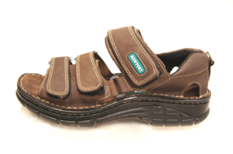 Newport Genuine Leather Rodeo-Brown Mens Sandal R599